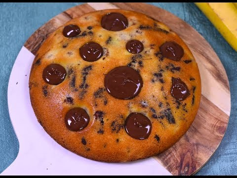 gÂteau-fondant-banane-chocolat-|-marmiton
