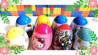 Surprise Egg 2019 ||  hello kitty, Despicable Me, Avengers and  Adventure Time