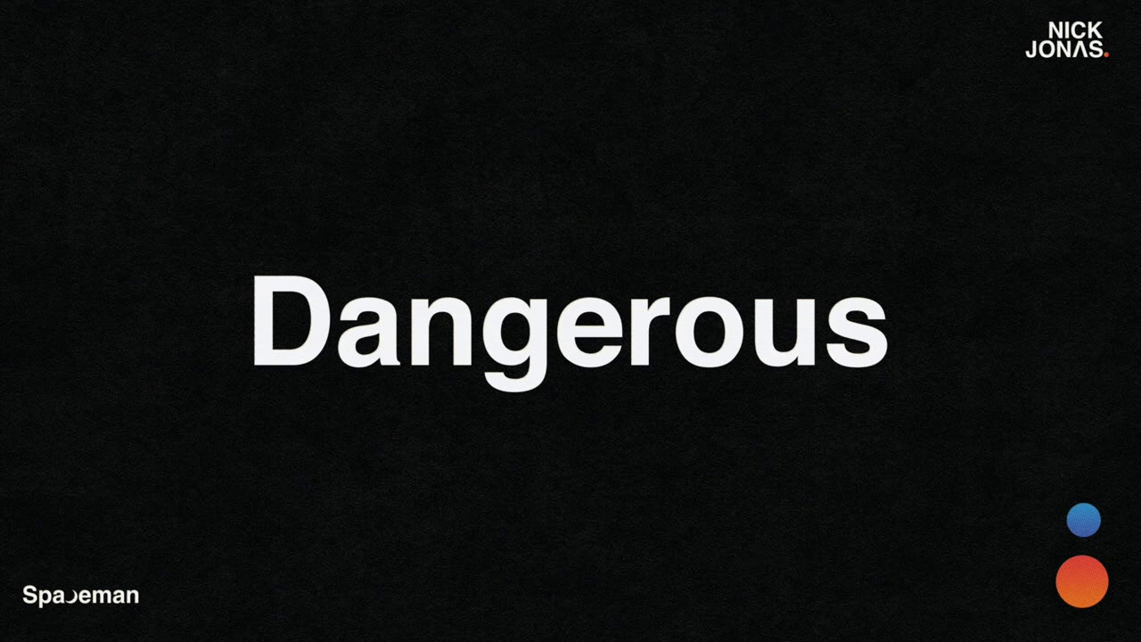 Nick Jonas - Dangerous (Audio)