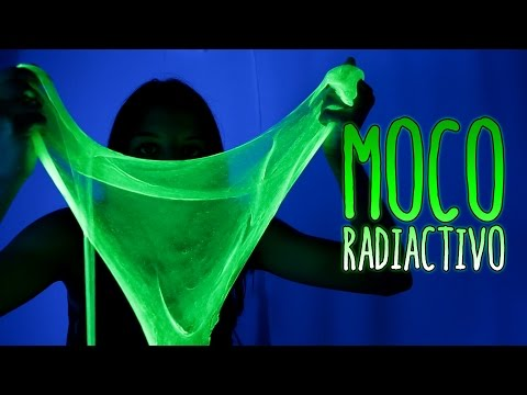 How make radioactive slime - Fluorescent SLIME (Home Experiments)
