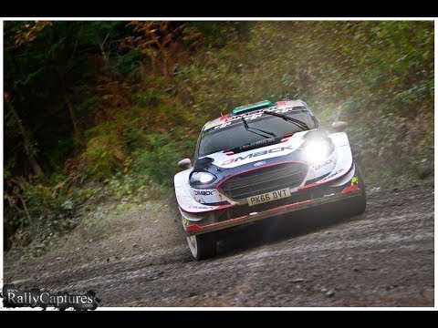 Elfyn Evans on the limit - Wales Rally GB 17