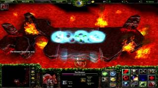 Warcraft 3 Nature's Call - The Spider Queen 7 - Deep in to the mountain