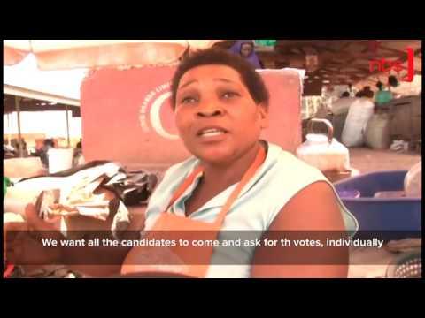 Mukono Kame Valley Market Traders and Municipality Mayor Clash
