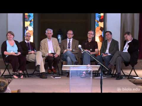 Panel 1: Neuroscience and the Soul Conference