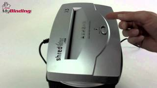How To Oil A Paper Shredder