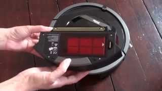 iRobot Roomba 880 robot vacuum cleaner review, demonstration and instructions.