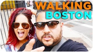 Gambar cover WALKING TOUR BOSTON THE TOP PLACES / BOSTON VLOG SERIES