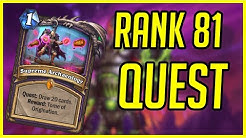 Rank 81 Legend Warlock Deck | Hearthstone | Quest OTK Warlock | Ashes of Outland
