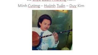 CD Điệu buồn phương nam - MINH CƯỜNG - HUỲNH TUẤN - DUY KIM