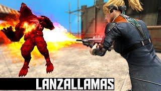 LANZALLAMAS + BOMBAS FULL DAMAGE WolfTeam ¡MATANDO A 1 HIT! - TochyGB