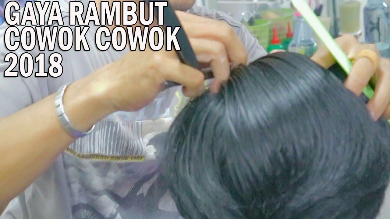 GAYA RAMBUT COWOK yang Paling dominan di INDONESIA 2018 ...