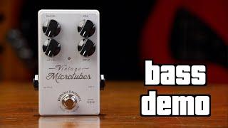 Darkglass Vintage Microtubes Bass Demo