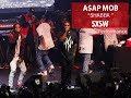 """Capture de la vidéo A$Ap Mob Perform """"shabba Ranks"""" At Sxsw 2014"""