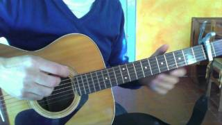How to REALLY play Norwegian Wood on guitar like the Beatles Lesson Tutorial