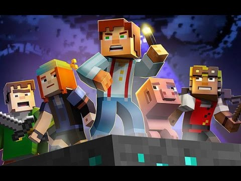 Minecraft: Story Mode [Episode 1: The Order of the Stone] [Russian]