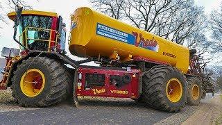 VREDO VT3936 Gülle-Selbstfahrer   Traktor   Gülle Ausbringung in den Niederlanden   AgrartechnikHD