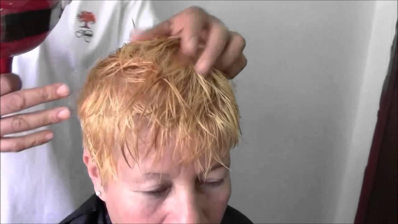 Decoloracion pelo corto