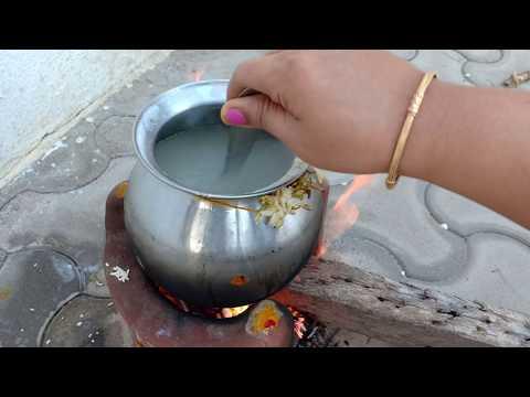 வீட்டு-வாசலில்-சர்க்கரை-பொங்கல்-வைக்கலாம்-வாங்க- -sakkarai-pongal-outdoor-cooking- -lucky-kitchen