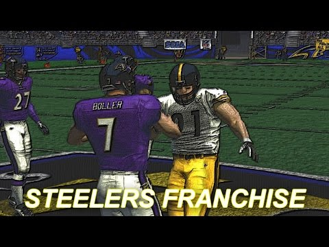 ESPN NFL 2K5 STEELERS FRANCHISE MODE - WEEK 2 VS RAVENS