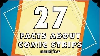 Repeat youtube video 27 AMAZING Facts About Comics - mental_floss on YouTube (Ep.49)