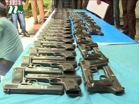 weapon stocks for sabotage in uttara | News & Current Affairs