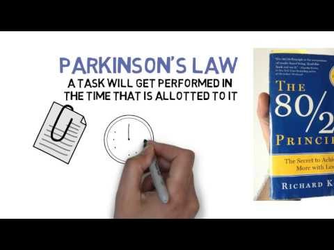 The 80/20 Principle and Parkinson