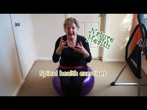 3 Simple exercises to improve spinal health