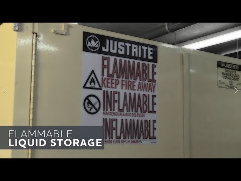 Supervisor Safety Tip: Flammable Liquid Storage