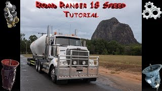 How to shift an Eaton Fuller Road Ranger with foot work
