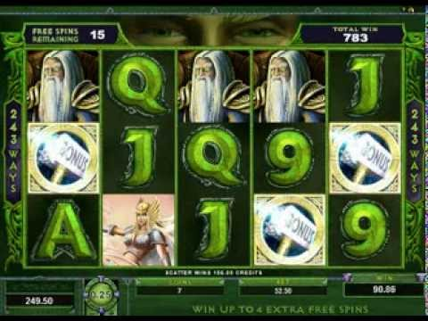 Review of Thunderstruck 2 Free Online Pokies Slots Game