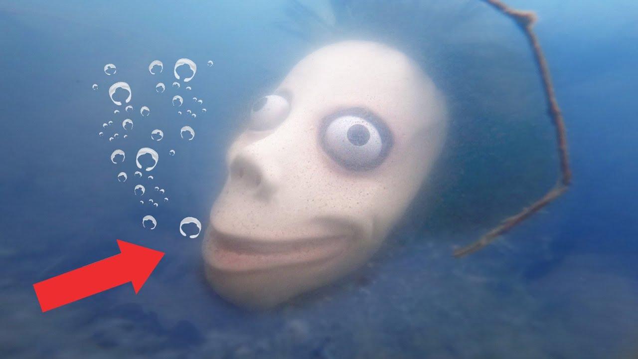XOXO MASKE UNTER WASSER im SEE VERSENKEN und ZERSTÖREN!! *sie geht schwimmen*
