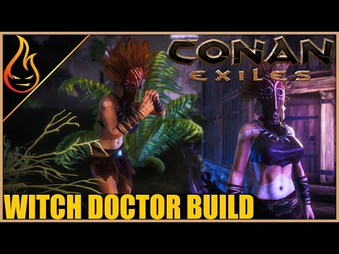 The Witch Doctor Conan Exiles 2018 RP Builds