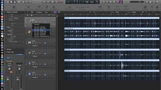 Logic Pro X - Video Tutorial 19 - Flex Time Part 2 - Rhythmic and Slicing
