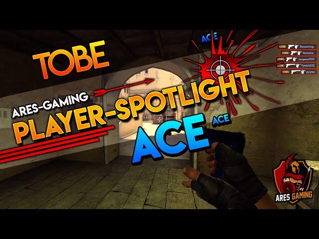 Player-Spotlight: tOBE PISTOL ACE on de_mirage CS:GO by Ares Gaming