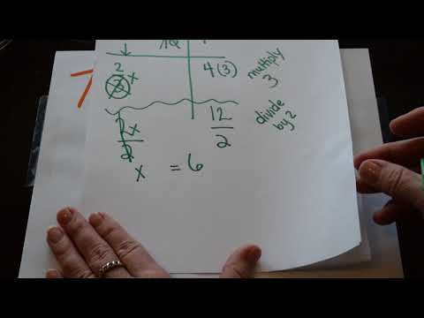 Math Made Easy! - Two Step Equations with One Fraction