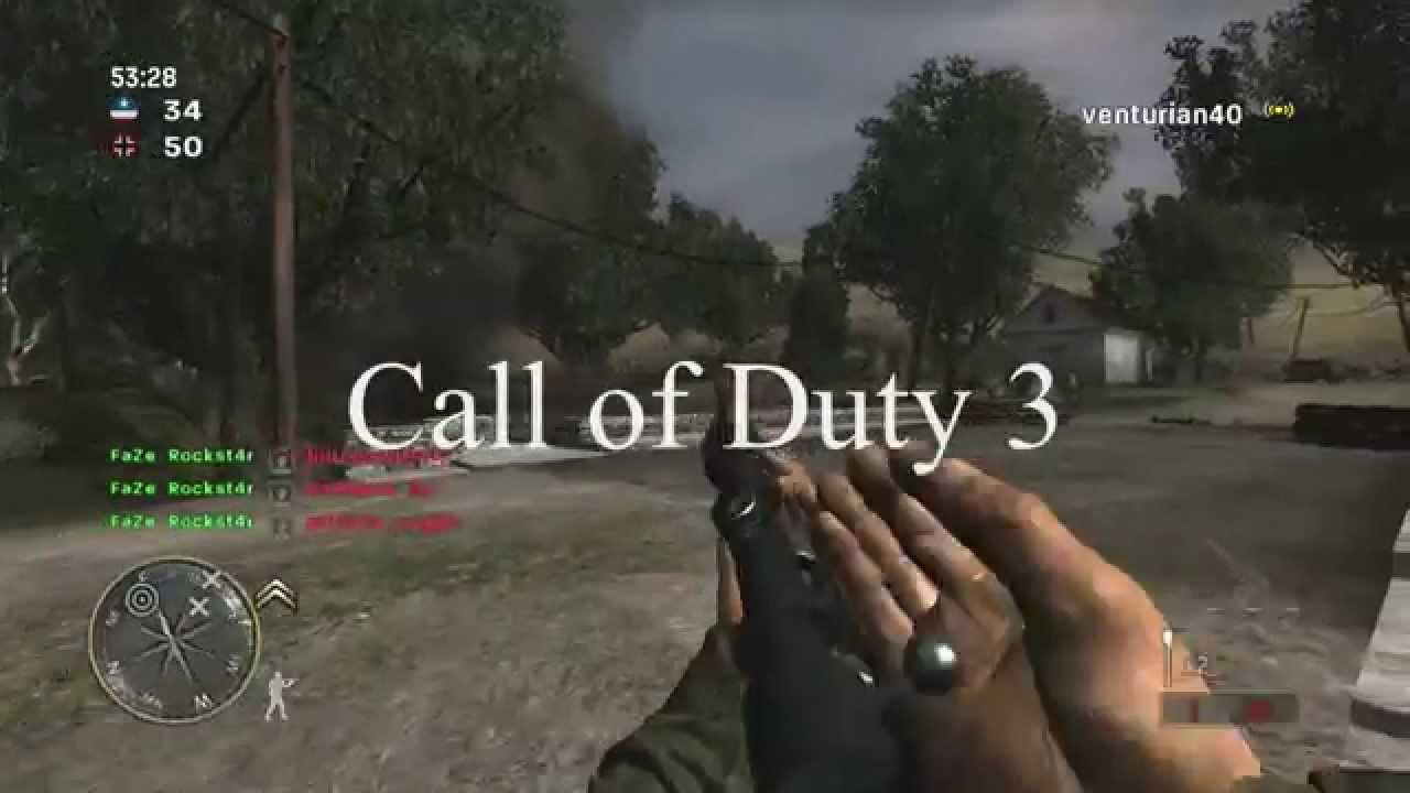FaZe Rockst4r - Call of Duty Montage 3