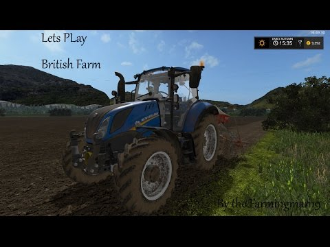 Farming Simulator 2017 - British Farm - Harvesting