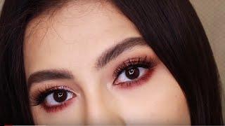 Maquillaje Rosa con Glitter💗 | Pink Glitter Makeup Tutorial 💗