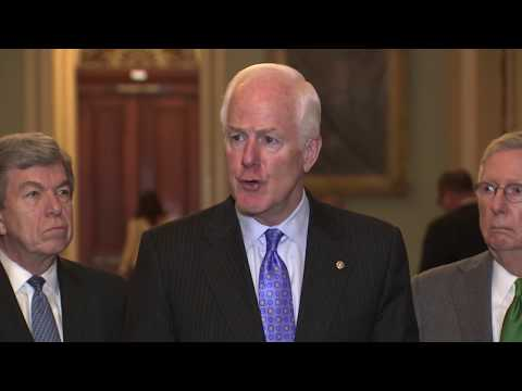 Cornyn announces plan for legislation on background checks after Texas shooting