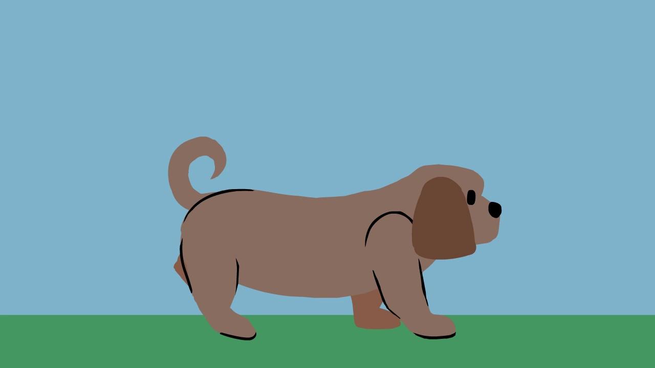 Dog Walk Cycle