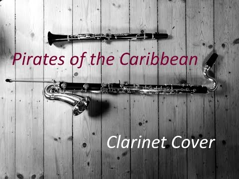 Hans Zimmer - Pirates of the Caribbean/Piratas del Caribe (At World's End) [Medley] - Clarinet Cover