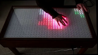 Interactive Led Table With Proximity Detection