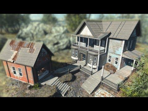 Fallout 4: Coastal Cottage Hotel Build thumbnail