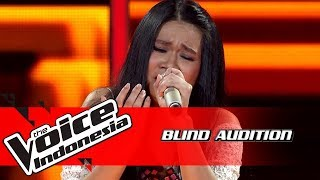 Cilla - Stone Cold | Blind Auditions | The Voice Indonesia GTV 2018