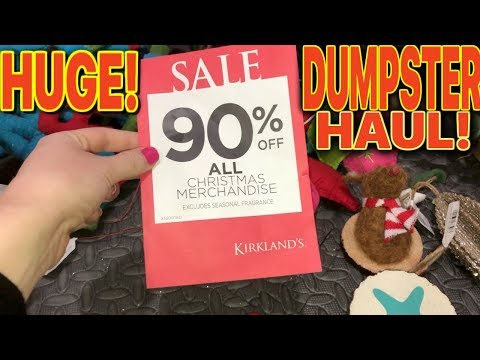*$500* HUGE SURPRISE MYSTERY BAG! IN THIS STORES DUMPSTER!