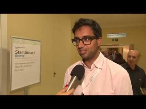 StartSmart Greece: Hussein Kanji's comments about StartSmart conference