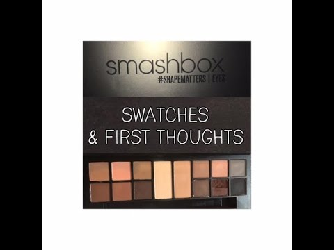 Smashbox Photo Matte Eye Palette Swatches First Impressions Youtube