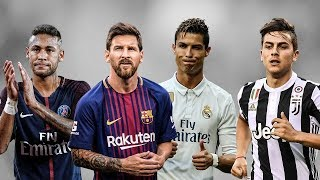 MESSI vs DYBALA vs NEYMAR vs RONALDO ● Despacito vs Shape of you vs Rockabye vs Swich Swich | 1080p
