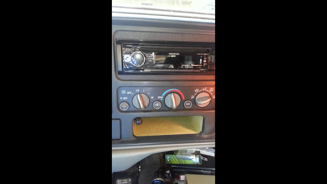 medium resolution of 1999 chevy suburban stereo replacement