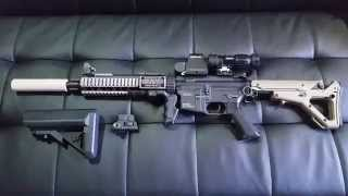 For Sale: Airsoft Kwa Sr10 Aeg Rifle